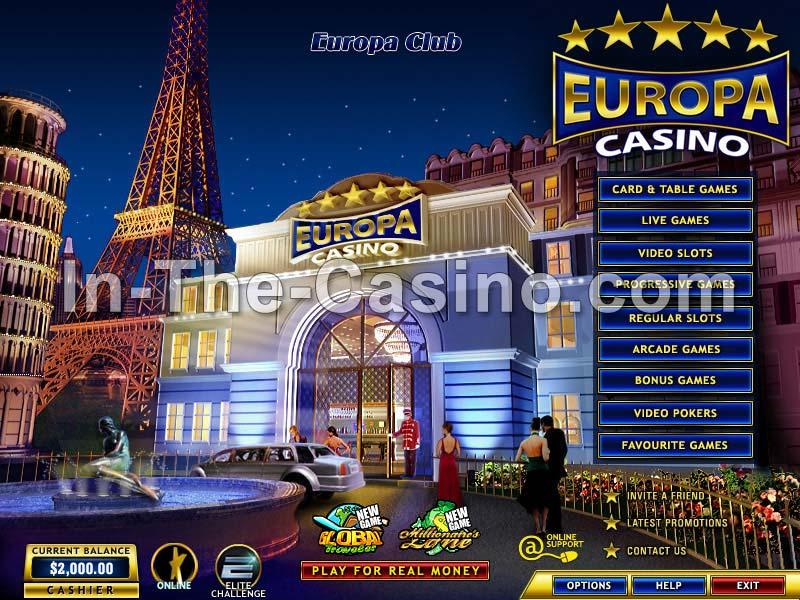 Europa casino.com rivage casino