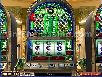 8-Ball Slots at Cameo Casino