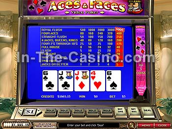 Aces And Faces at Cameo Casino