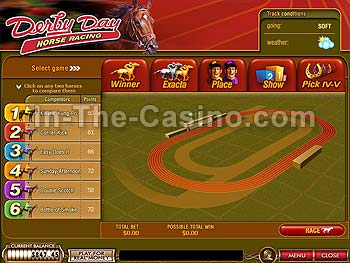 Play Derby Day Arcade Games Online at Casino.com