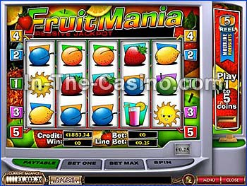 Fruitmania at Cameo Casino