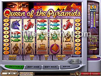 Queen Of Pyramids at Cameo Casino