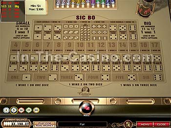 europa casino online sic bo
