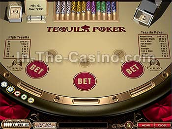 Tequila Poker at Cameo Casino