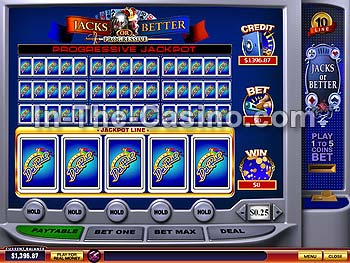 10-line Jacks Or Better en Del Rio Casino