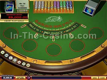 How to play blackjack progressive