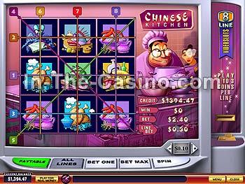 Chinese kitchen slot machine