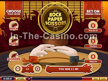 Rock-Paper-Scissors at Del Rio Casino