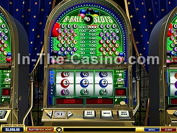 8-Ball Slots at Europa Casino