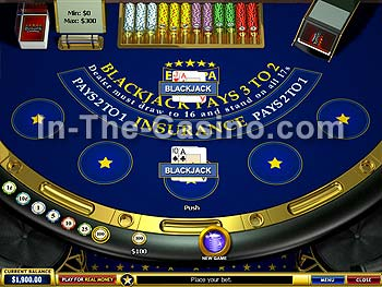 Blackjack at Europa Casino
