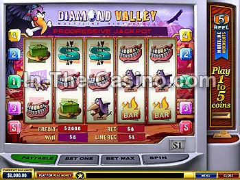 Diamond Valley at Europa Casino