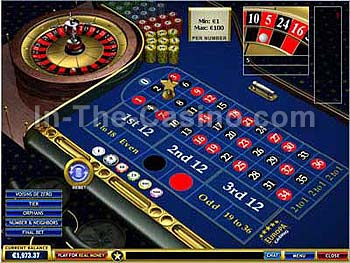 online casino websites european roulette