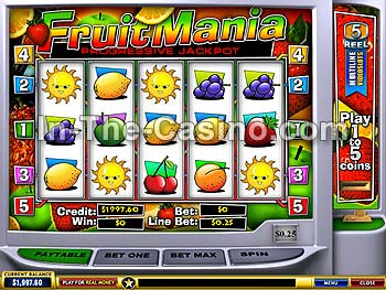Fruitmania at Europa Casino