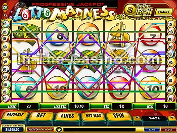 Lotto casino game / Gambling sente