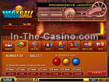 Megaball at Europa Casino