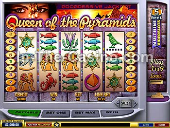 Queen Of Pyramids at Europa Casino