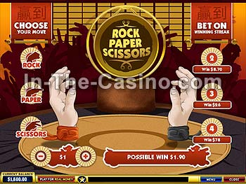 Rock-Paper-Scissors at Europa Casino