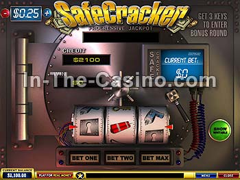 Safecracker at Europa Casino