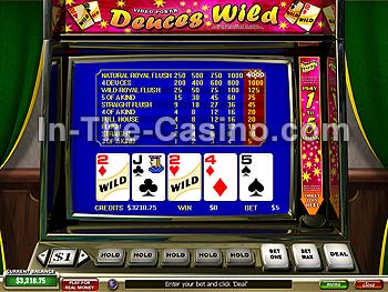 Deuces Wild at Tropez Casino