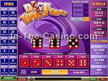 casino games using dice