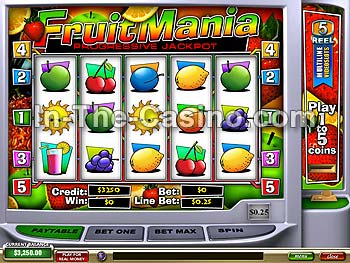 Fruitmania at Tropez Casino