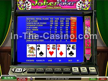 blackjack online casino joker poker