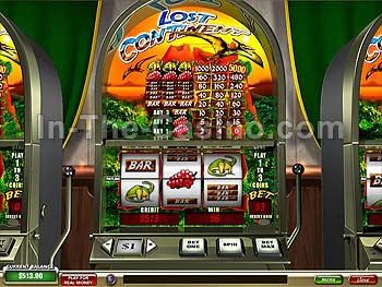 Lost Continent Slots at Tropez Casino