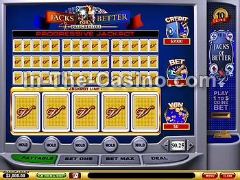 10-line Jacks Or Better en Vegas Red Casino