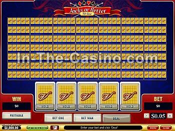 Video poker gratis 50 linee
