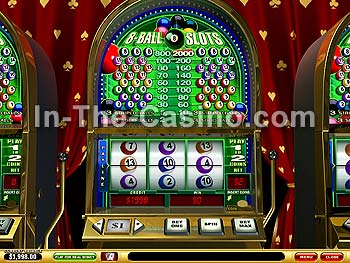 8-Ball Slots at Vegas Red Casino