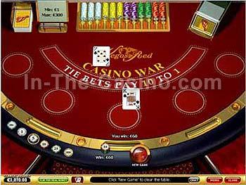 casino war vegas
