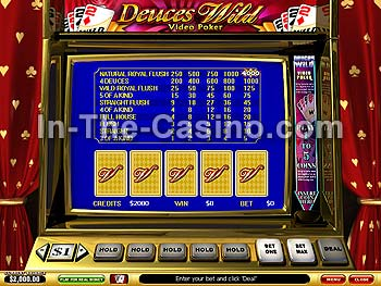 Deuces Wild at Vegas Red Casino