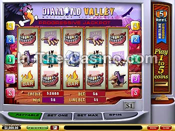 Diamond Valley at Vegas Red Casino