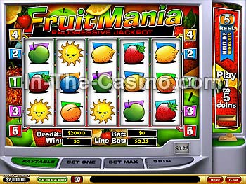 Fruitmania at Vegas Red Casino