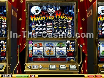 Haunted House at Vegas Red Casino