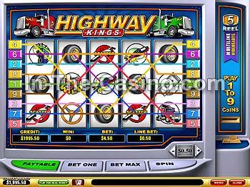 Highway Kings Online Casino Games