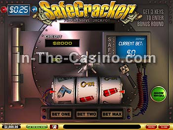 Safecracker at Vegas Red Casino