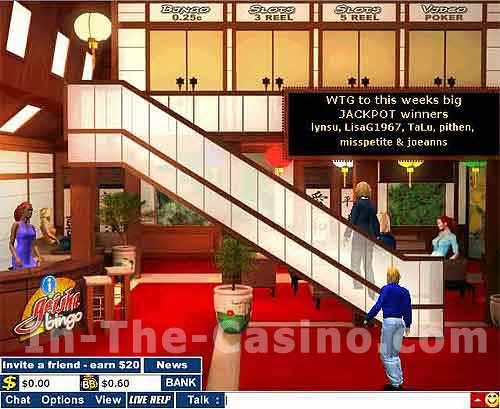 Screenshot of Geisha Bingo