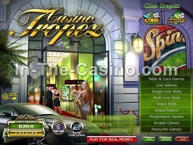 Tropez Casino Online